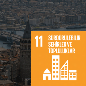 SDG 11 Sürdürülebilir Kalkınma Amacı 11 - Sürdürülebilir Şehirler ve Topluluklar